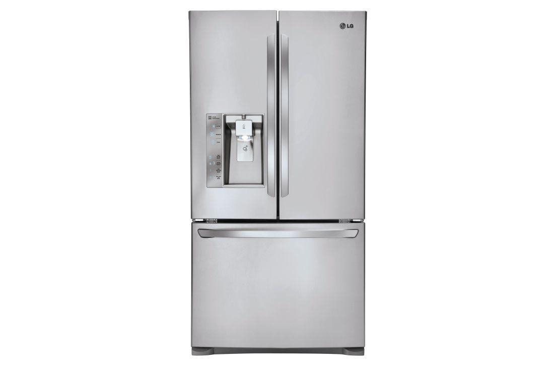 Lg Lfxc24726s 24 Cu Ft French Door Counter Depth Refrigerator Lg Usa French Refrigerator French Door Refrigerator Reviews French Door Refrigerator