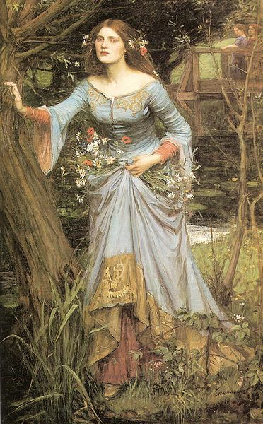 Ophelia (1910) - John W. Waterhouse