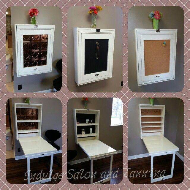 Mesa para maquina y trabajo plegable manicure murphy - Mesa plegable salon ...