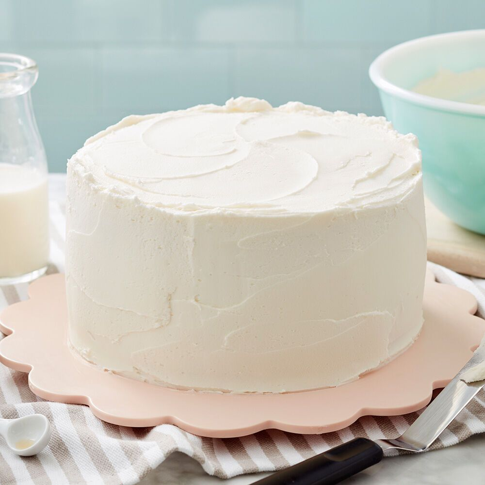 Easy Vanilla Buttercream Frosting Recipe Buttercream Frosting Recipe Icing Recipe Frosting Recipes