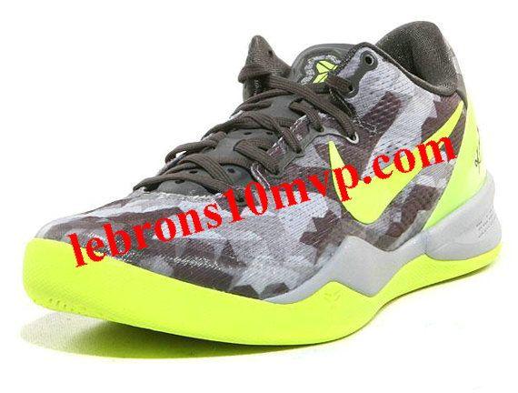 Nike Kobe 8 SYSTEM GC Volt Pure Platinum 555286 001