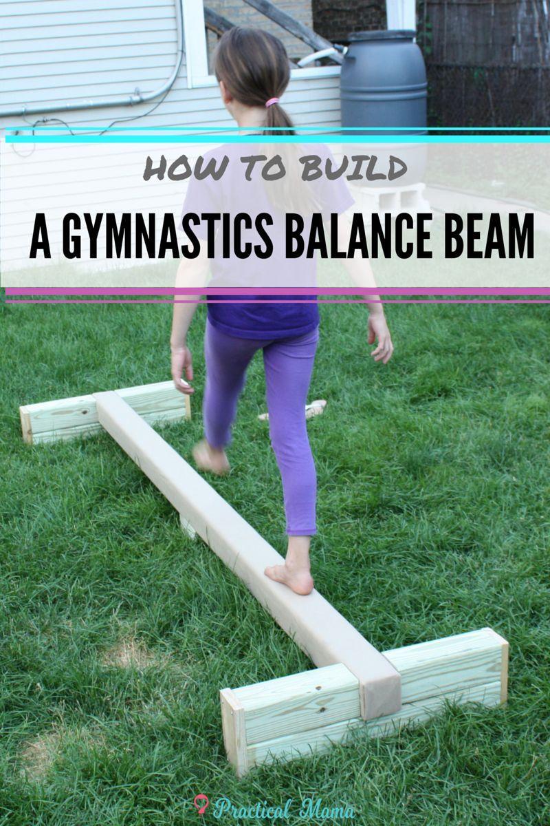 DIY- How to build a balance beam | Afuera, Gimnasia y Aula