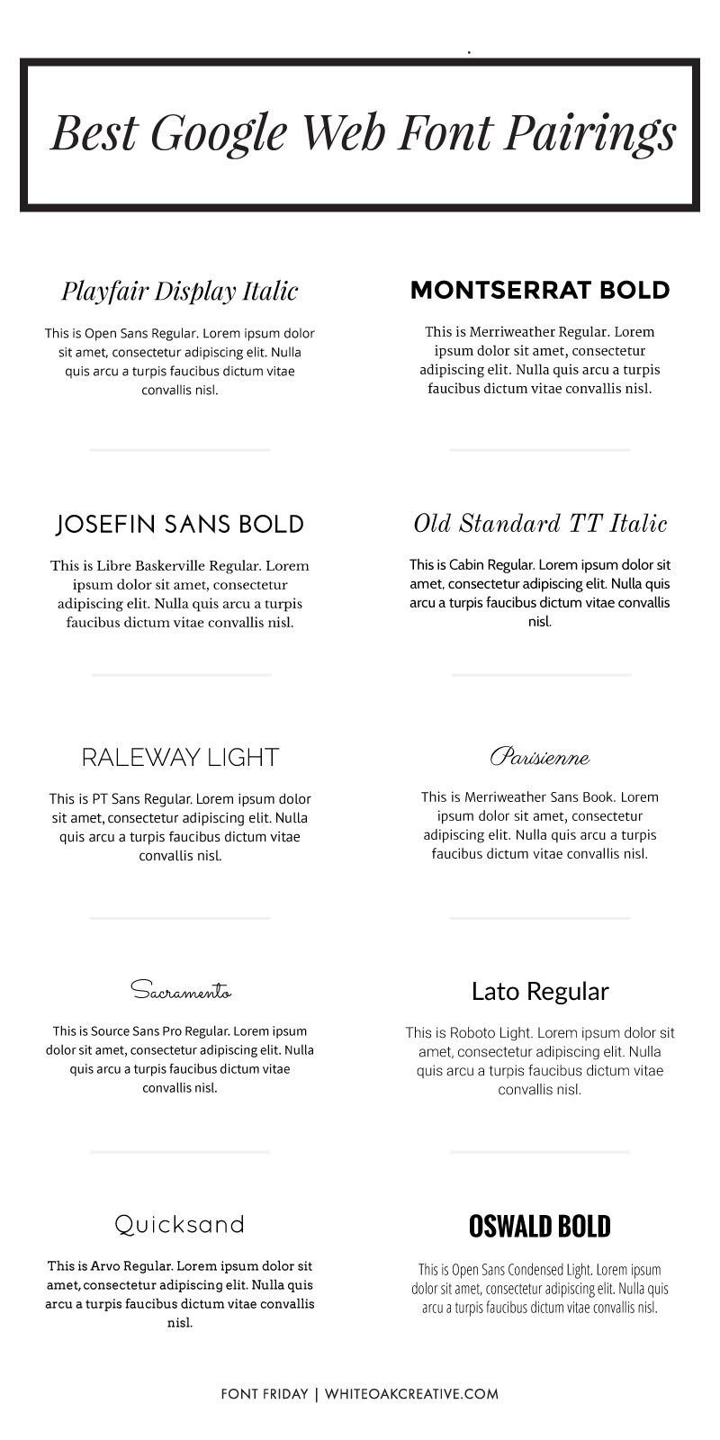 Google Web Fonts are great for premade themes and DIY web