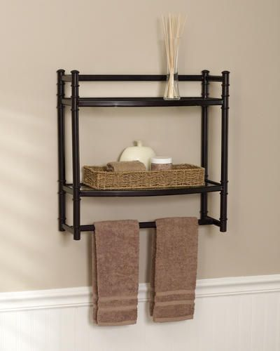Tuscany Brand Beautiful Oil Rubbed Bronze Bathroom Shelf 10 Oil
