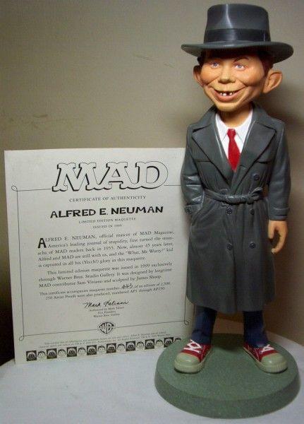Collectible Alfred E. Newman Figure