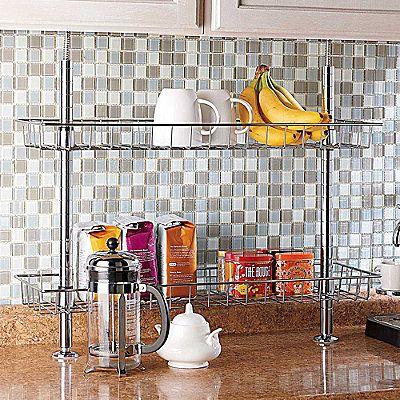 Kitchen Storage Kitchen Organizers Improvements Catalog Countertop Storage Kitchen Countertop Storage Storage Shelves