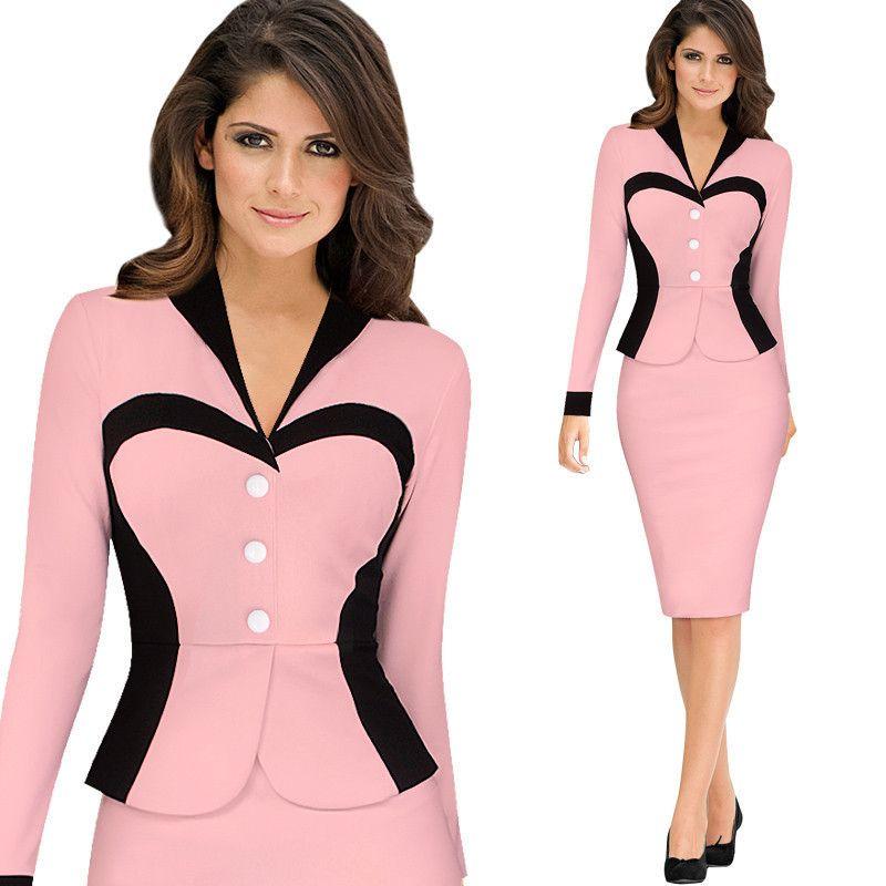 Bonito El último Vestido De Desgaste Del Partido Para Las Señoras ...