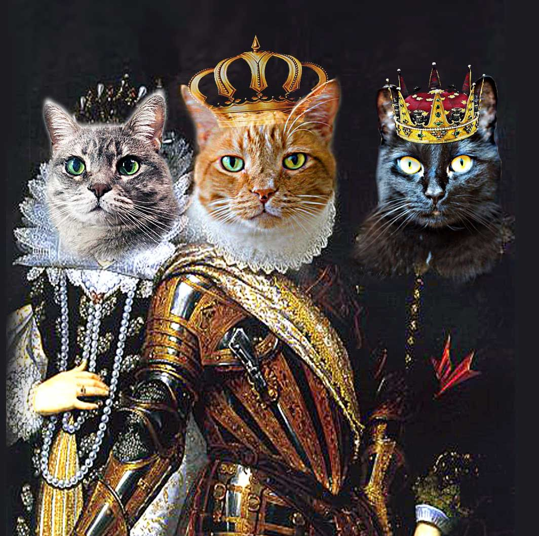 Renaissance Pet Portraits For The Pet Who Has By RenaissancePet - Game of thrones pet paintings