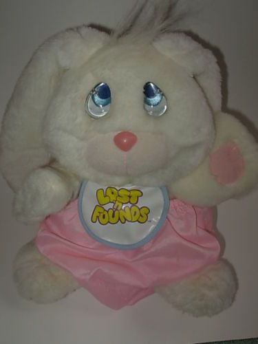 Galoob Lost N Founds Bunny Rabit Plush Stuffed Animal Plush Stuffed Animals Childhood Plush
