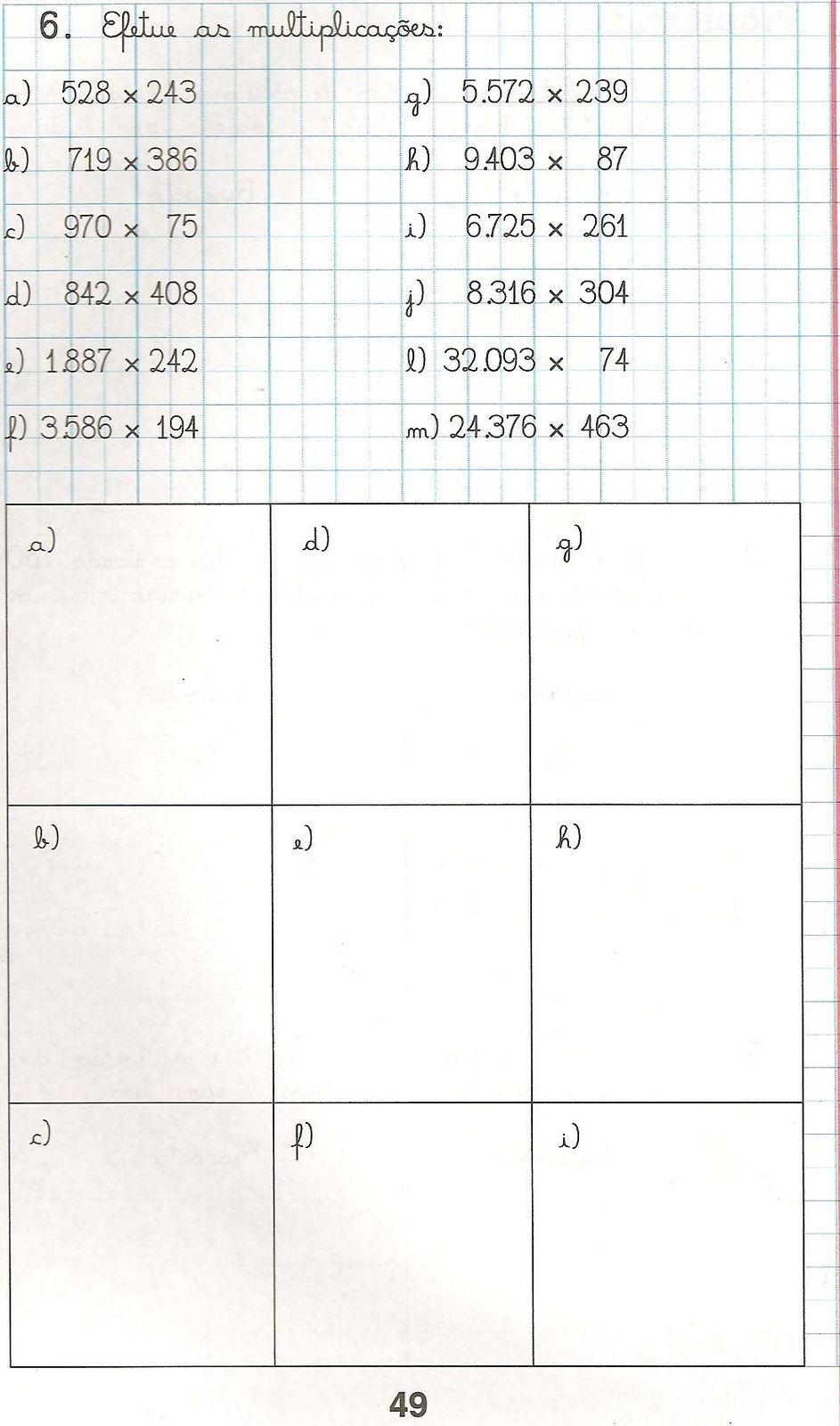 Pin Em Ejercicios Matematicos