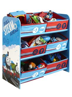 Thomas and Friends 6 Bin Storage Unit | Bedroom | Furniture  sc 1 st  Pinterest & Thomas and Friends 6 Bin Storage Unit | Bedroom | Furniture | Thomas ...