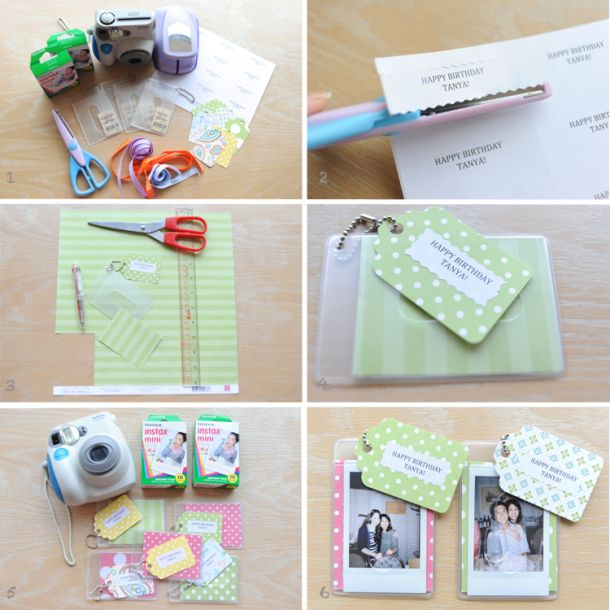 Quick N Easy Polaroid Party Favors