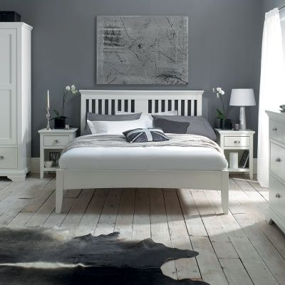 Traditional In Style Yet With A Contemporary Feel The Carrington White Bedroom Furniture Range Is