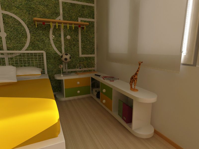 Dise o de cuarto de ni os muebles infantiles - Muebles infantiles diseno ...