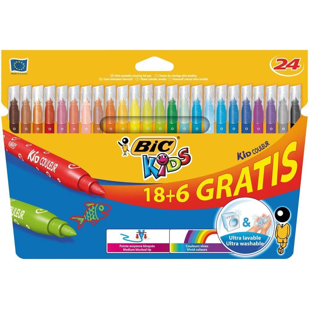 Sss Baby Party Animals Cheap Watercolor Markers Bic Colored Pens Cute School Supplies