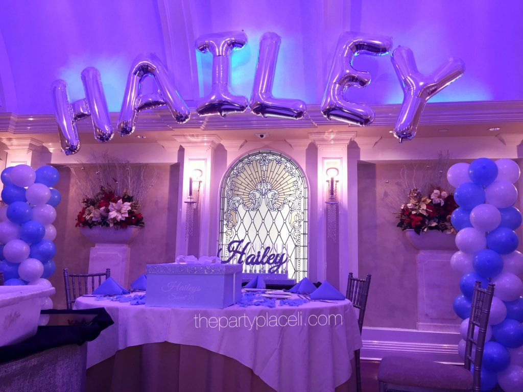 Tiffany themed sweet 16   ThePartyPlaceLI.com in 2019 ...