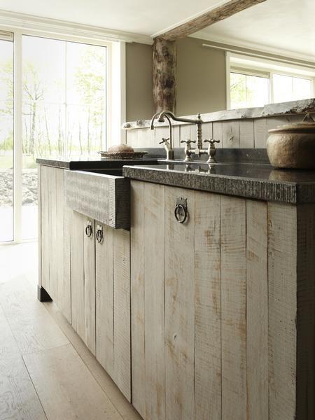 Gerard hempen keukens van hout landelijke keukens moderne houten keukens op maat inside - Keuken houten moderne ...