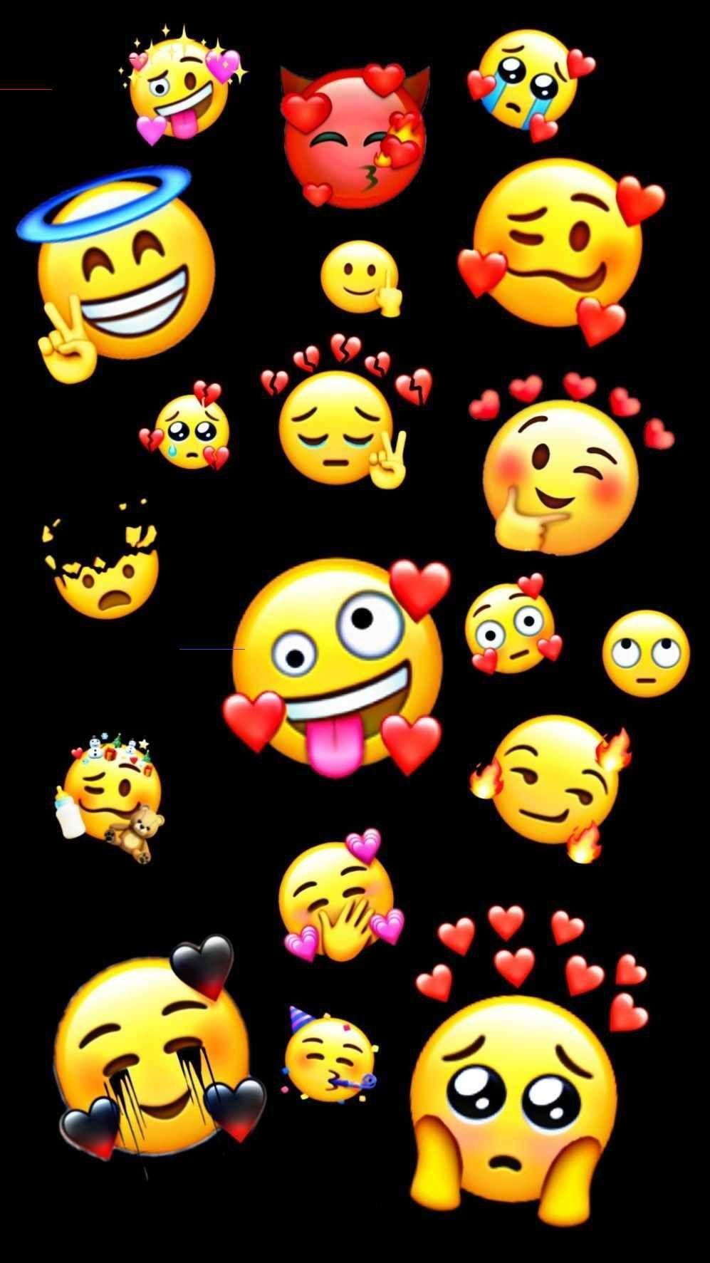 Ecran Fond D Ecran Fond D Ecran Telephone N De Funnywallpapers Cutelockscreenwallpaper In 2020 Cute Emoji Wallpaper Emoji Wallpaper Iphone Emoji Wallpaper