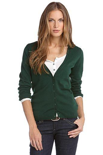Good basic green sweater