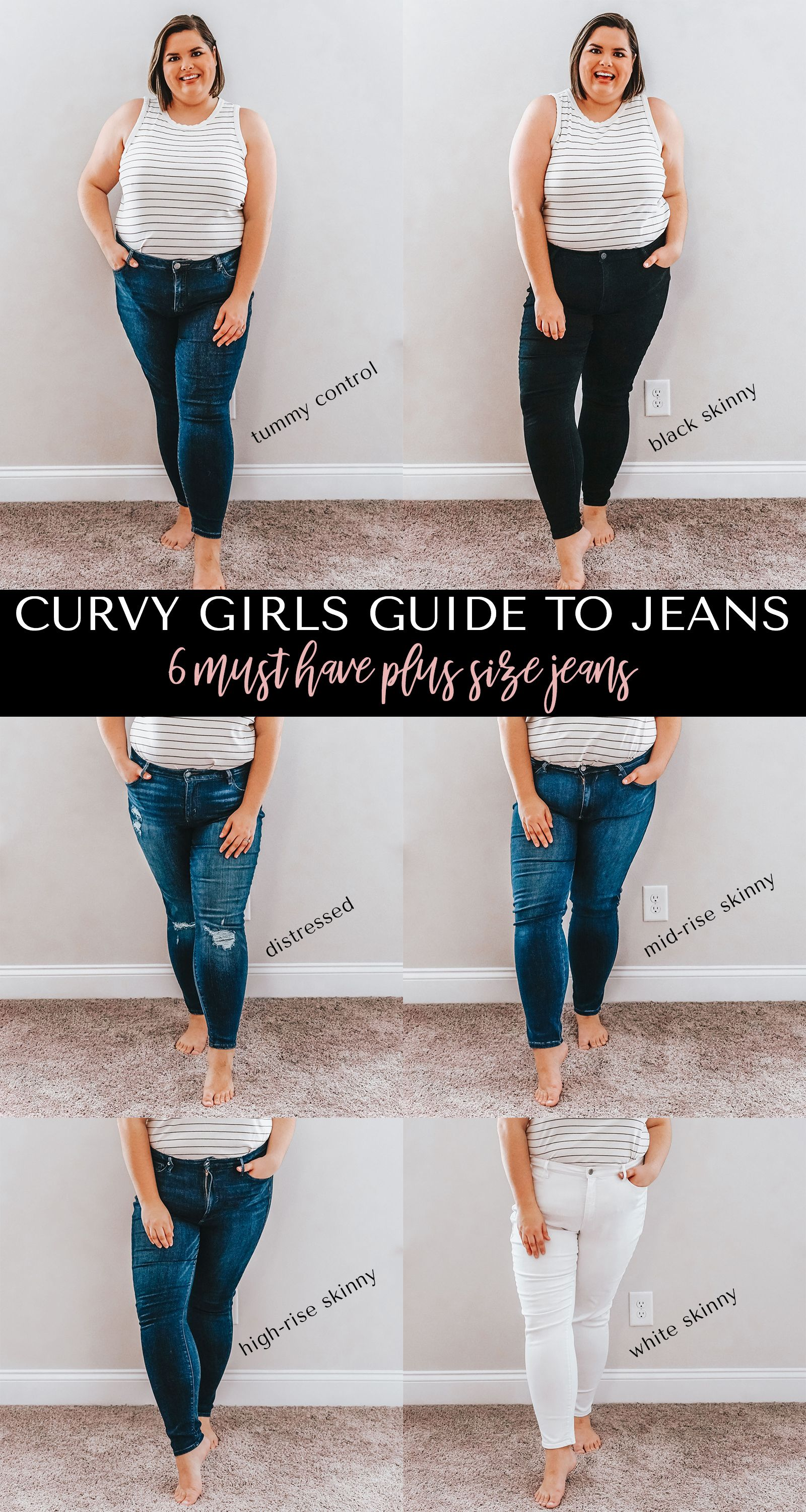 1c46fd2a48b Curvy Girls Guide To Jeans - Best Plus Size Jeans