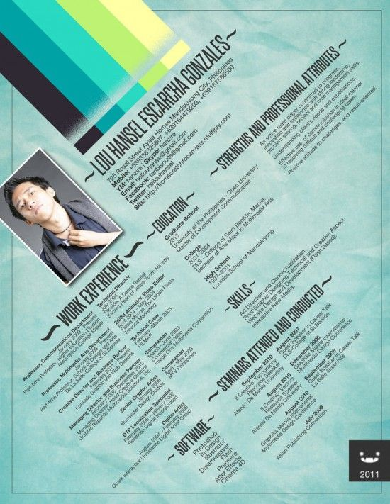 resume-designs-inspiration-cv-024 Resume Design  Layouts