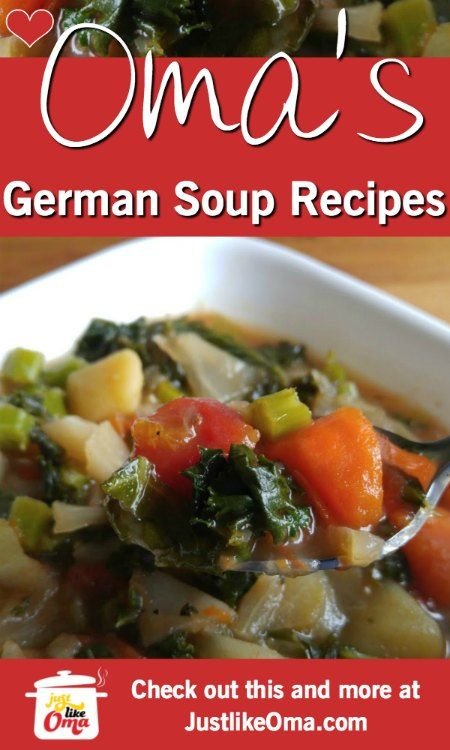 ️ German Homemade Soup Recipes made Just like Oma