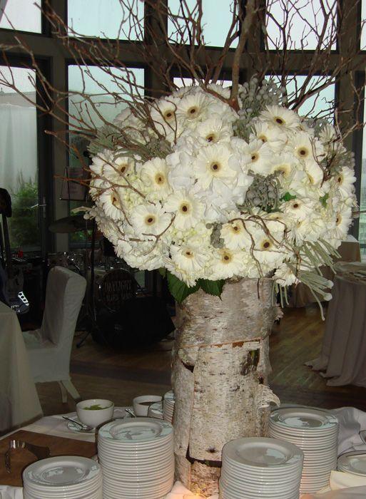 Birch Tree Flower Vaseybe An Idea For My Sisters Wedding