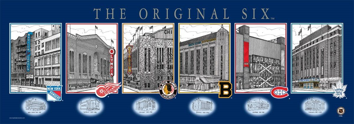 Image result for original six nhl opening night