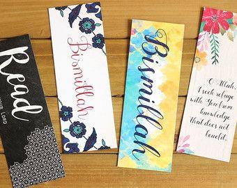 Bookmark 4-Pack of Bookmarks Bookmarks Set Unique Bookmarks Bookmarks Quotes Bookmark Patterns Bookmarks Handmade