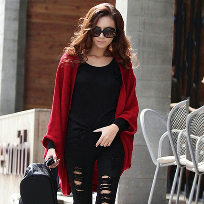 Red and Black Cardigans