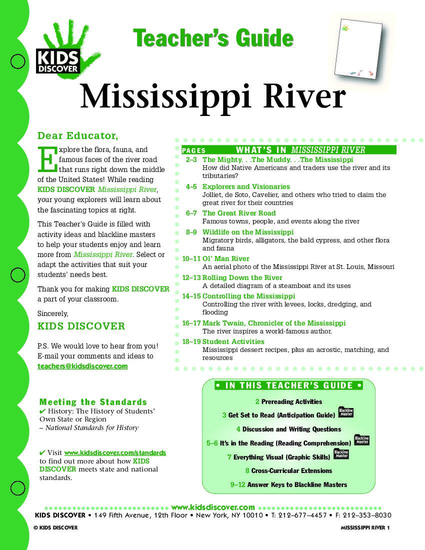 Mississippi River | KIDS DISCOVER | Geography landforms ...