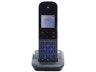 Ramal Sem Fio para Telefone Motorola até 5 Ramais - com Identificador de Chamadas Moto 6000-R