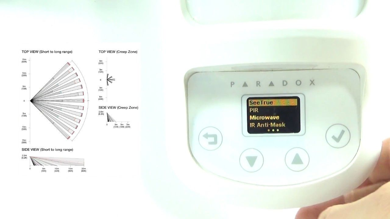 small resolution of paradox nvx80 alarm high end detector basic wiring and menu overview