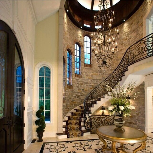 15 Incredible Mediterranean Staircase Designs That Will: Mediterranean Style Staircase And Brick (With Images