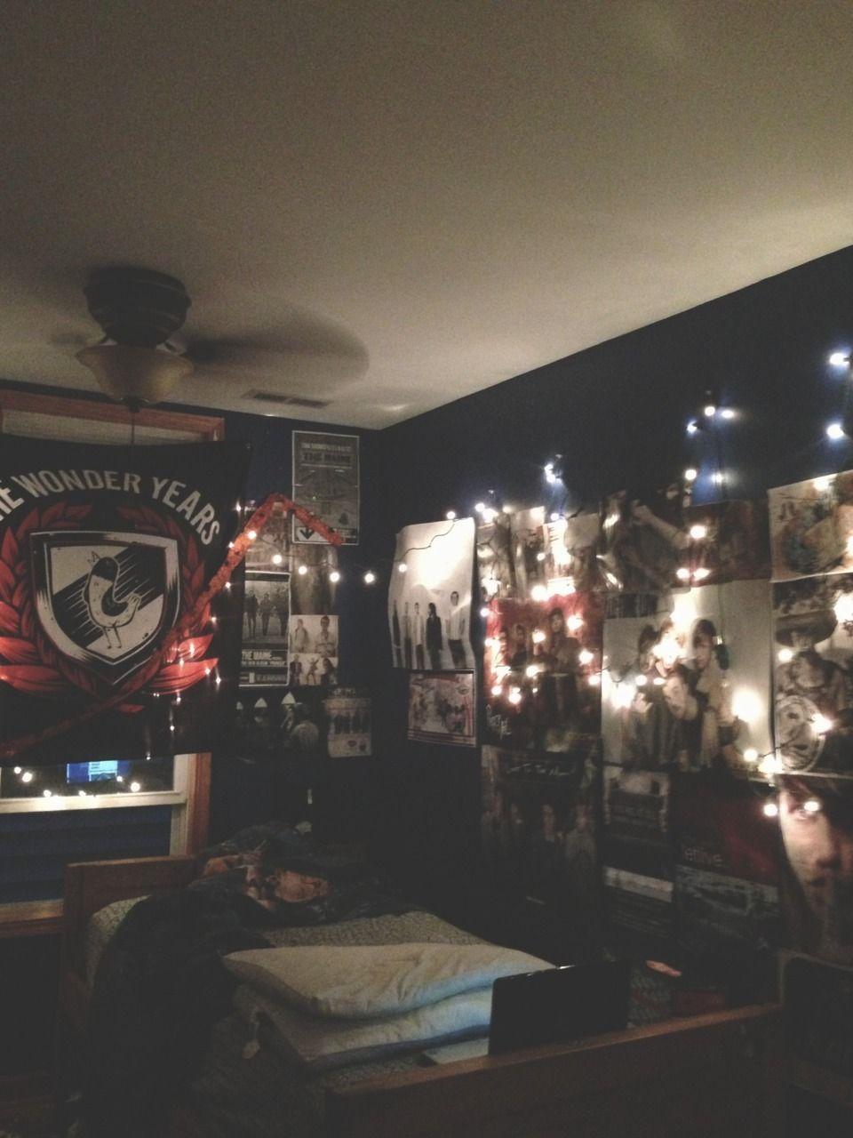 Pinterest Karenmontilla25 Emo Room Punk Room Grunge Room