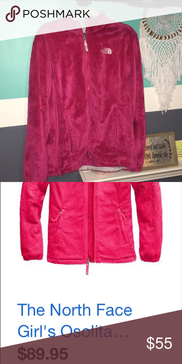23d2070f9 Pink Northface Fuzzy Hot Pink The North Face Jackets & Coats | My ...