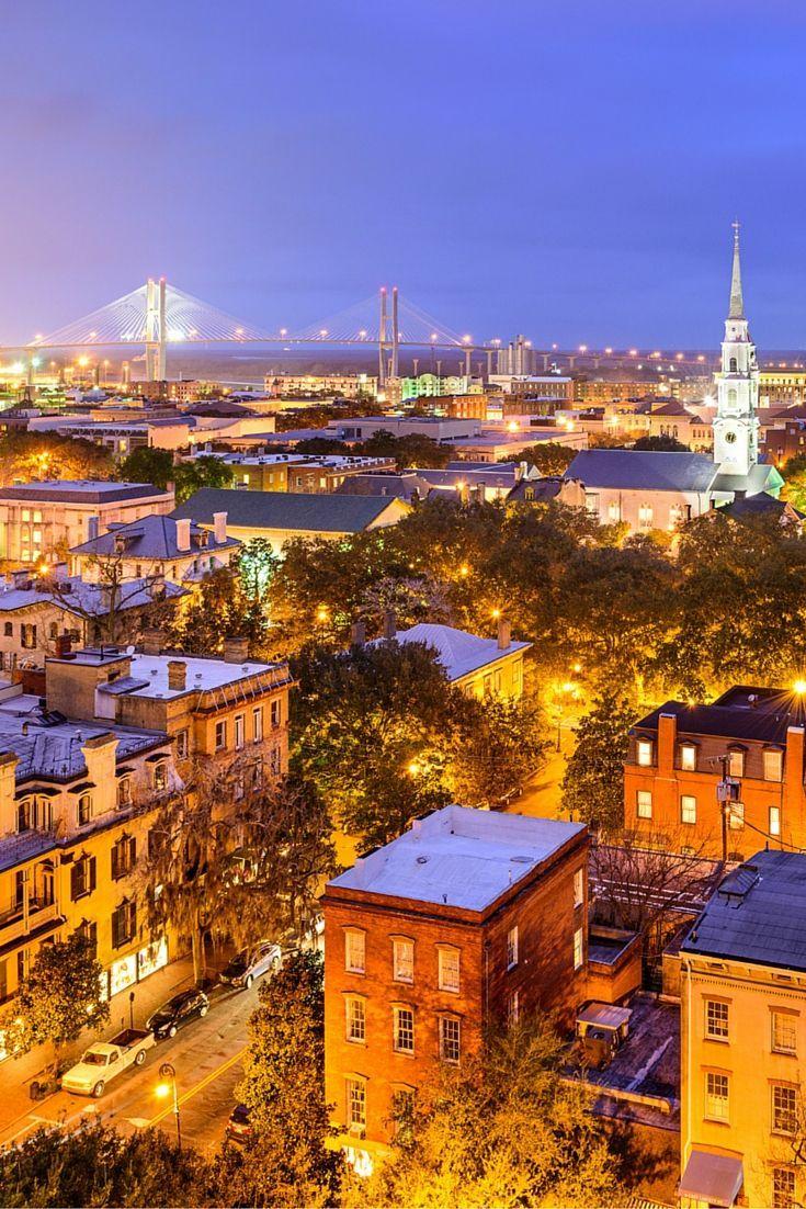 Travel to Savannah, Georgia | Ciudad fotografía, Paisajes ...