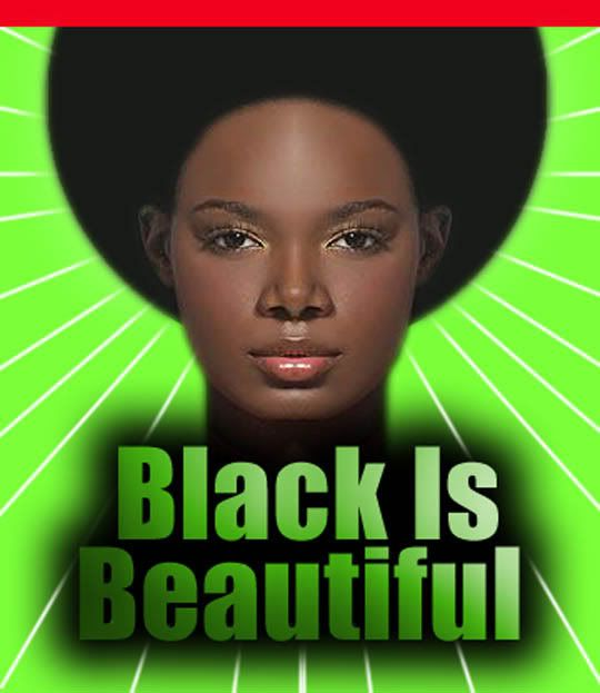 Afros, locks and naturals – all symbols of a powerful