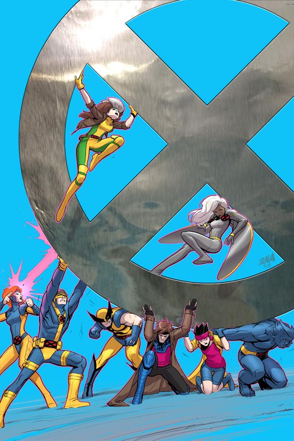X Men 92 4 Variant Cover X Men Marvel Xmen Art