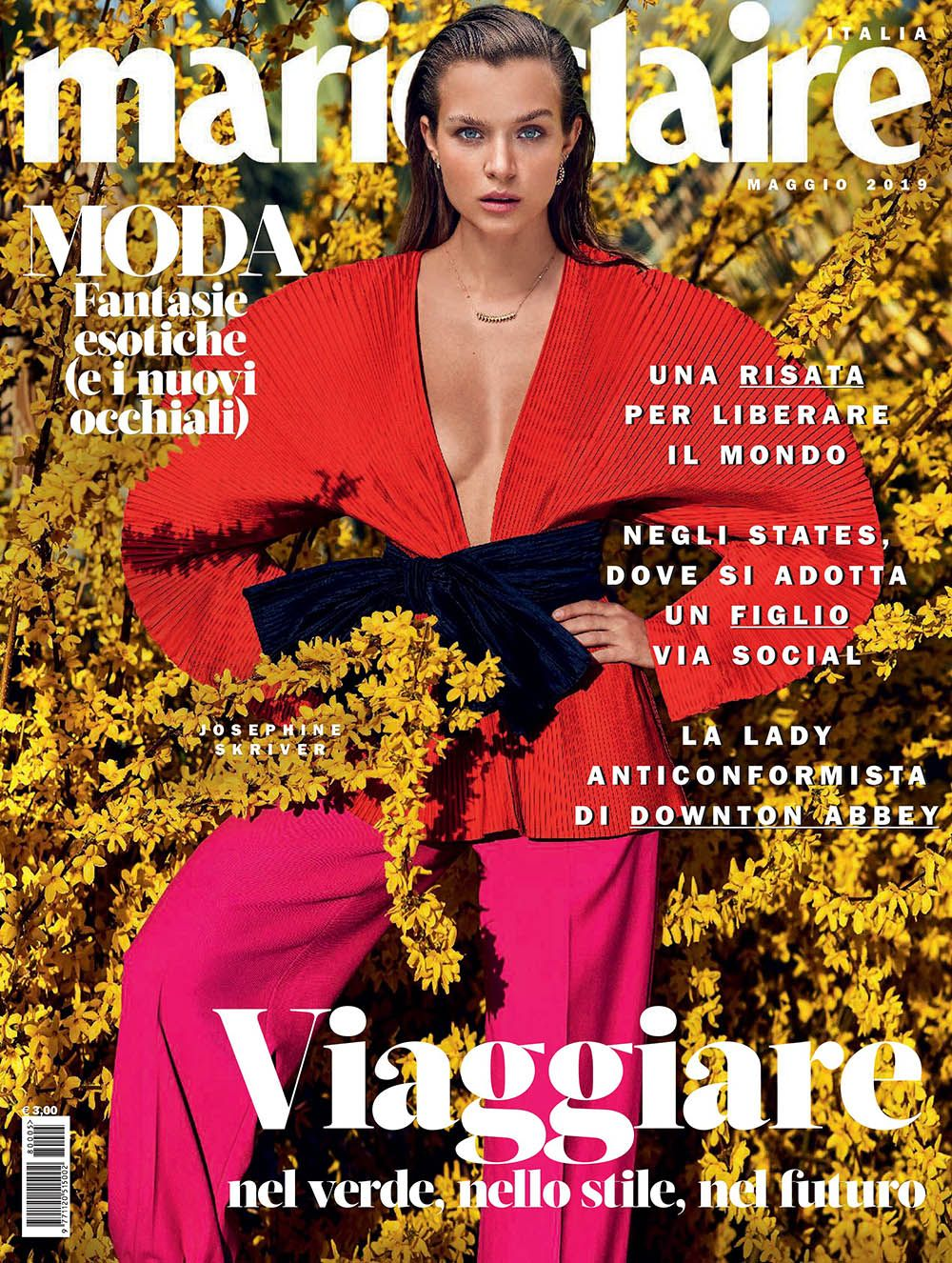 Josephine Skriver covers Marie Claire Italia May 2019 by