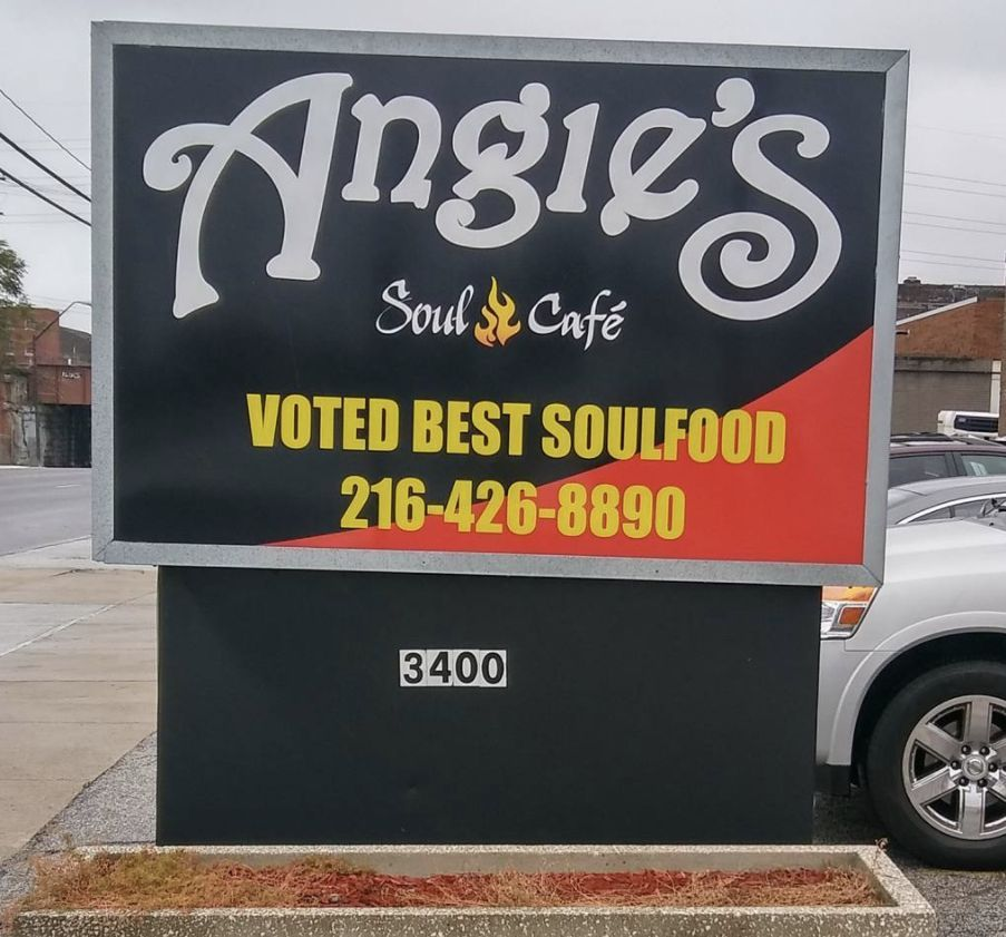 Angies soul food cafe 7815 carnegie ave cleveland its