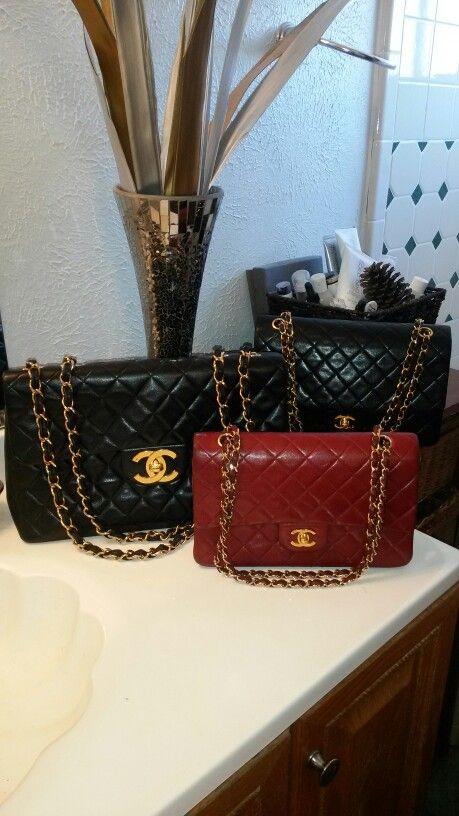 8fb42da8dc3c Vintage Chanel jumbo maxi handbag