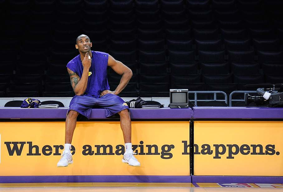 Kobe Bryant Afraid Of Life After Basketball- http://getmybuzzup.com/wp-content/uploads/2014/07/334912-thumb.jpg- http://getmybuzzup.com/kobe-bryant-afraid-of-life/- By Stephen Olszewski Since being drafted by Charlotte and eventually being traded to The Lakers Kobe Bryant has dazzled us with game winners, clutch performances, and mind blowing performances. His Jordan-like desire to be the best and to work harder than anyone in the game is truly one of the...- #Basketball, #Ko