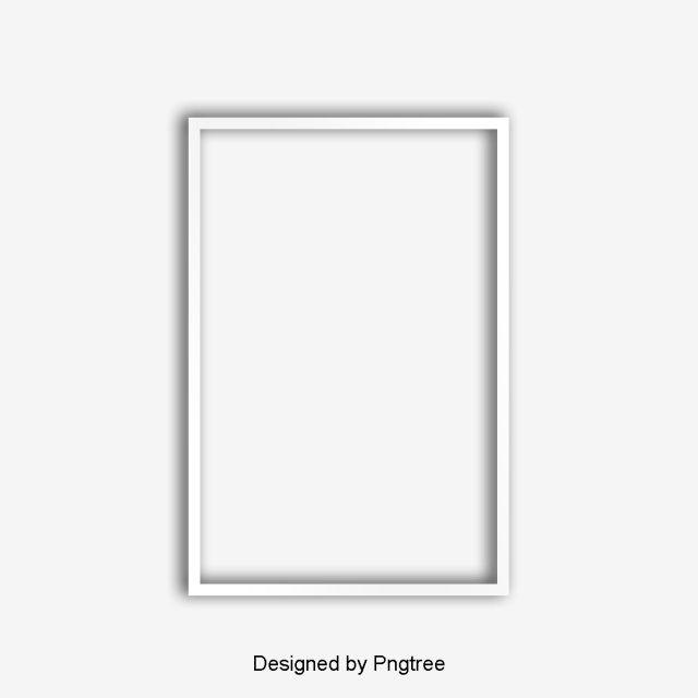 صورة الصورة ورقة الظل الإبداعية الإسقاط رسم الحدود ناقلات الحدود Png وملف Psd للتحميل مجانا Simple Photo Frame Photo Frame Design White Picture Frames