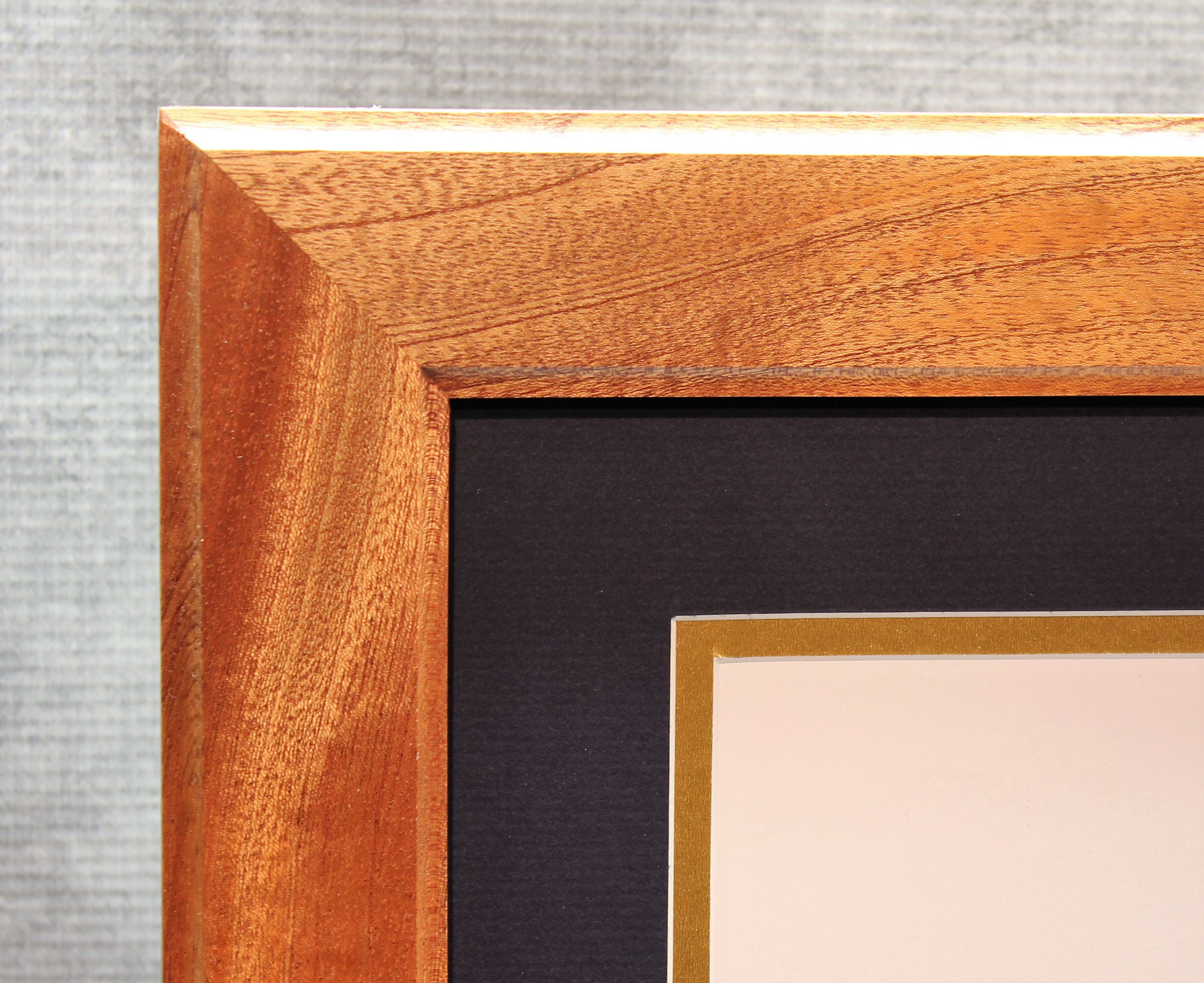 Diploma Frame 8 12 X 11 Diploma Mahogany Frame Office Decor
