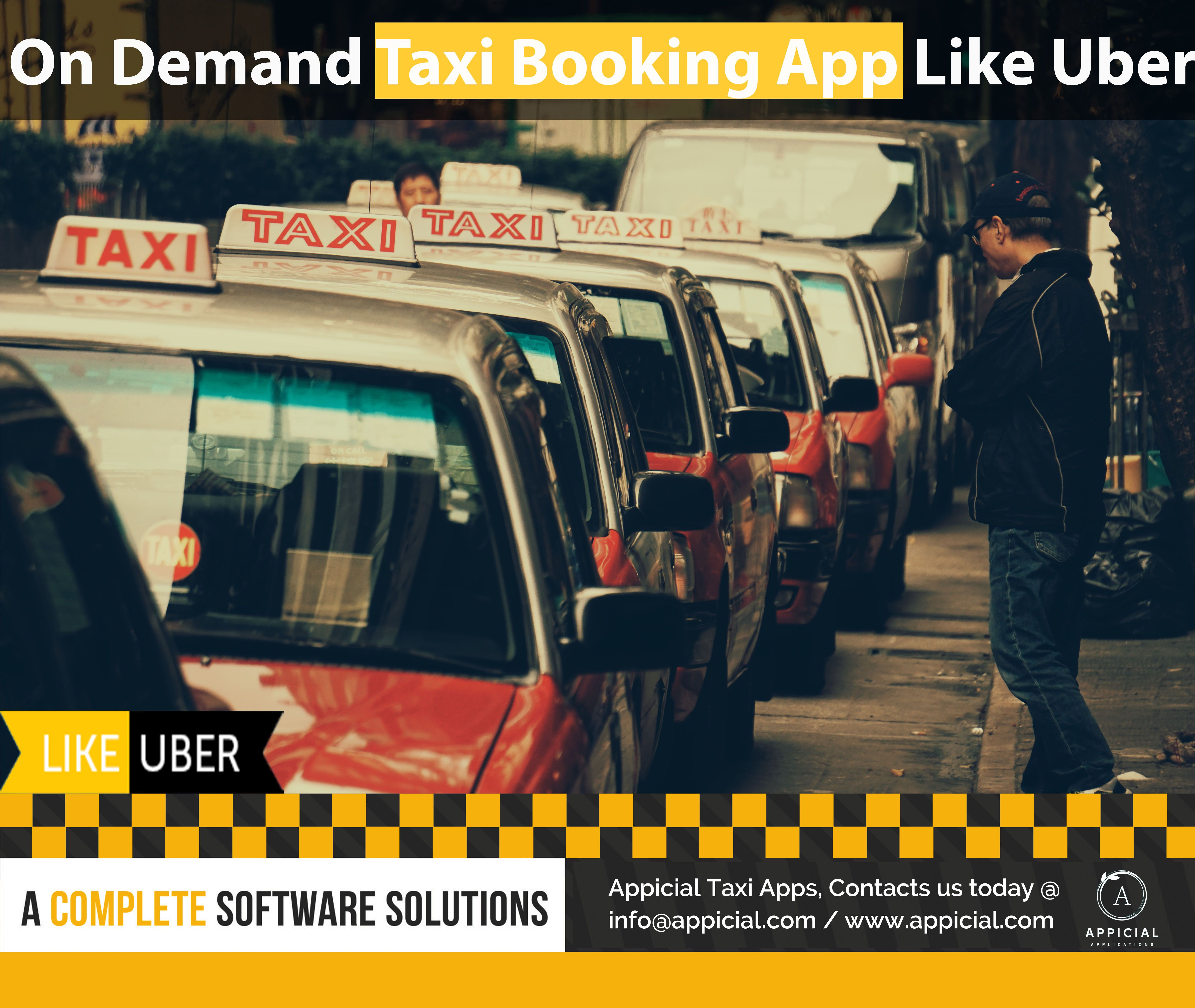 Ondemand taxi app like uberthat is fully white label and