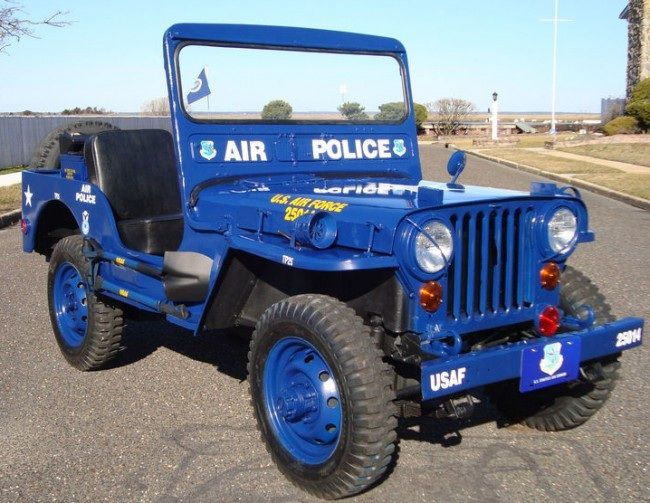 1951 Willys M-38 Air Police jeep...