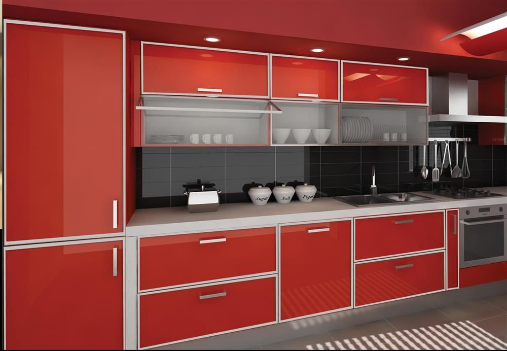 Aluminium Kitchen Cabinet Singapore Aluminium Kitchencabinet Kitchen Pinterest Cupboard
