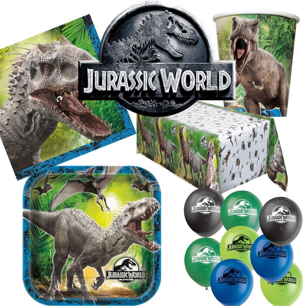 Jurassic World Ultimate Birthday Party Digital Package