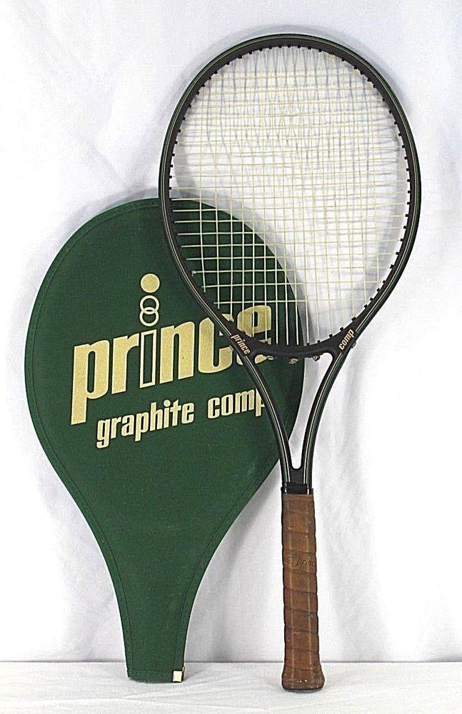 Prince Graphite Composite OS 110 Sq Inch 41/2 Grip Tennis